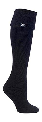 Heat Holders Women's Thermal Wellington Boot Socks 5-9 Us (Black)