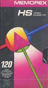 Memorex High Standard Video Cassette 120 Full Lifetime Warranty