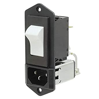 Plug Power Entry Module 6A SCHURTER 5145.0991.511