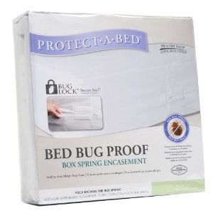 Bed Bug Proof Box Spring Encasement, Hotel King 9 in. H (Order 2 per Mattress)