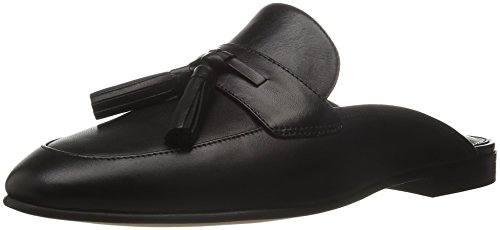 Women's Slip-On Loafer, Black Leather