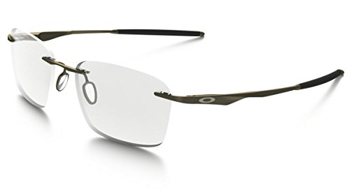 Oakley RX Wingfold-EVS Designer Eyeglasses OX5115-0153 in Satin-Pewter DEMO - Titanium Oakley