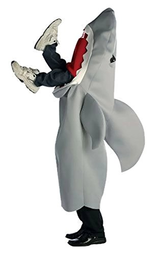 Man-Eating Shark Costume - One Size - Chest Size 48-52 -