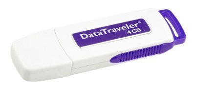 Kingston DataTraveler I - 4 GB USB 2.0 Flash Drive DTI/4GB