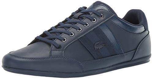 Lacoste Men's Chaymon Sneaker Navy, 9.5 Medium US