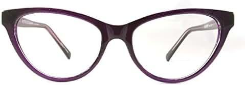 Retro Eyeworks Beverly Anti-glare Reading Glasses 52-17 MM (1.0x, Purple)