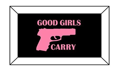 (SharpShooter Decals Good Girls Carry Decal Sticker T1461-4.00