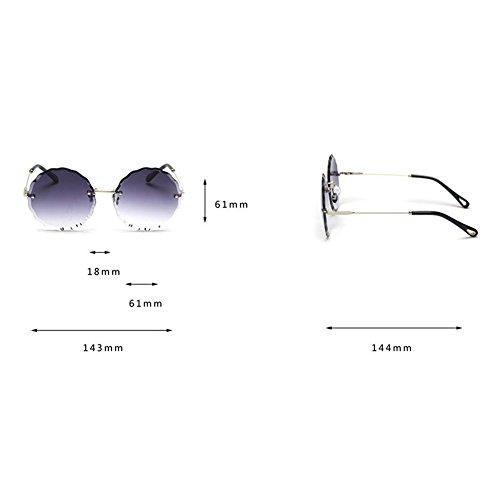 Cordless Ocean Sunglasses Color Z Style Grey Wave Color Gafas Grey Chicas Change Lentes para De amp;HA Lace Jóvenes Ropa Star Gafas Gradual Redondo Gradient Caramelo Lentes Accesorios 5xttnqPYrw