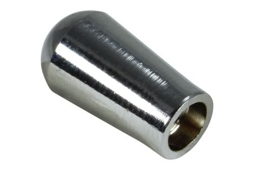 Chrome plated toggle switch knob tip for US Gibson guitars - SAE 8-32 thread (Sansui Receiver Vintage)