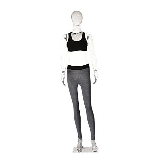 Jannyshop Femme Vêtement Sport Ensemble Costume de Yoga Soutien-gorge de Yoga + Pantalon Legging Yoga pour Femme