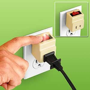 midget electrical two prong plug