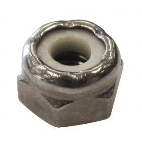 Handi Man Locknut (Handi Man Marine Co 59737P 182 10-24 Lock Nut Ss (4 Pack))