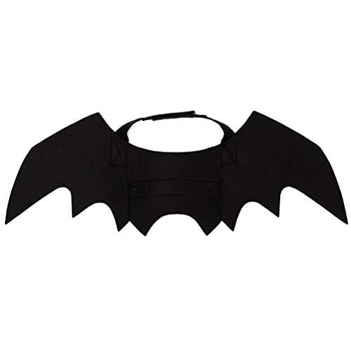 POPETPOP Dog Cat Costume Bat Wings Creative Small Pet Wing Halloween Suppiles ()