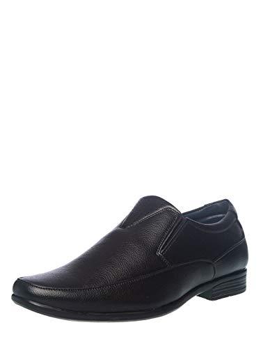 Khadims Men Black Formal Slip-On Shoe