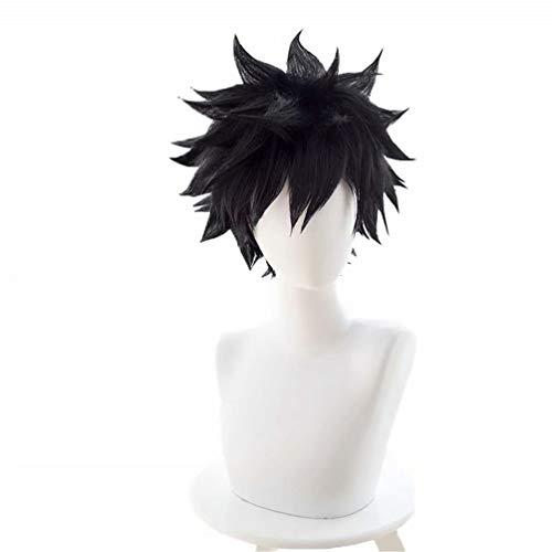 Kadiya Black Short Fluffy Boy Male Anime Show