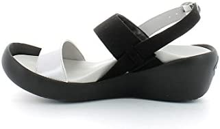 Regetta Canoe, Low Wedge Muses Black, sándalo Born in Nippon