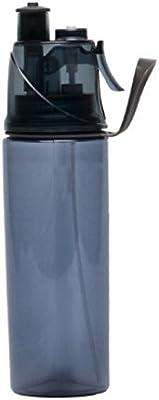 Set of 2 O2 COOL Power Flow Grip 24 oz Water Bottle /& Mist N Sip