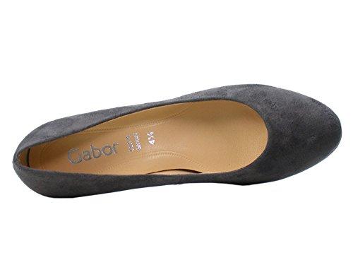 Gabor Women's Basic Closed-Toe Pumps, River Dark-grey 49