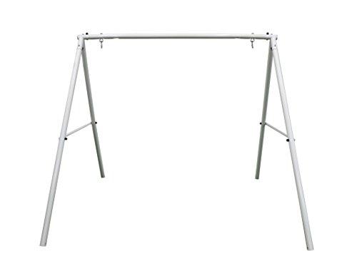 - XDP Recreation Swing Frame, White