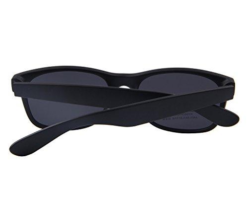 amp;Black Homme de Matte black Noir soleil Lunettes MERRY'S Noir q8H1H7t