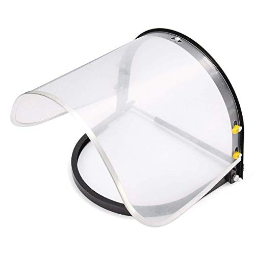 Wanrane Welding Mask,Garden Anti-Splash Face Visor Transparent Labor Protective Shield Mask Soldering Welding Mask Protective Shield Mask Garden Tools Transparent from Wanrane
