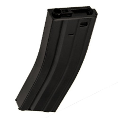 M4 / M16 - 500 Round Airsoft Hi-Cap Magazine Clip AEG Electric Rifles - METAL ()