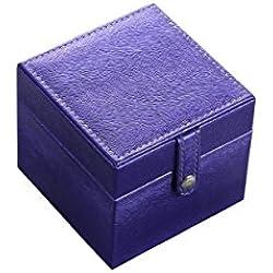 ORE International YMB-1801 Jewelry Watch Case, Azure Blue