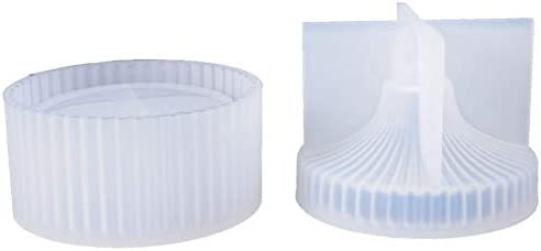 REFURBISHHOUSE Caja de joyería de Almacenamiento de Raya Redonda DIY Molde de Resina de epoxi de Cristal Caja de Almacenamiento de Silicona Molde Herramientas de fabricación de Joyas: Amazon.es: Hogar