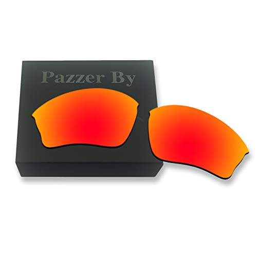 Polarized Replacement Lenses for Oakley Half Jacket XLJ Sunglasses - Orange Red Mirrored ()