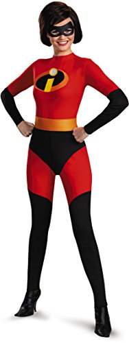 [Disguise Unisex Adult Mrs Incredible, Multi, Large (12-14) Costume] (The Incredibles Mrs Incredible Costumes)