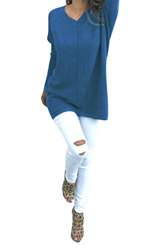 Sovoyant Womens Sleeve Pullover Sweater
