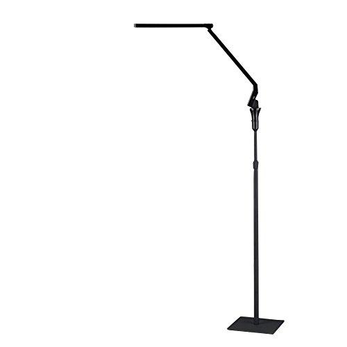 Modern Floor Lamp For reading,OuBay Led Foldable Floor Standing Lamps For Living Room (4 Color Mode, 5 Brightness Mode, Reading,Resting,60-Min Timer,USB Port For Charging Your Phone, Flicke-Free)