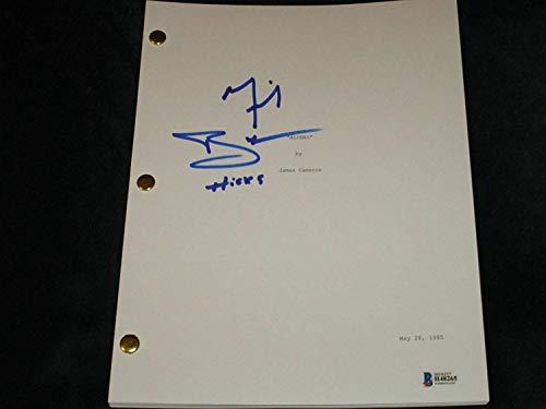 Michael Biehn Autographed Signed Memorabilia Aliens Movie Script Autograph Bas Beckett COA from Sports Collectibles Online