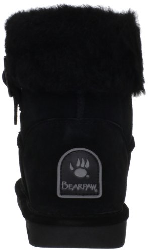 BEARPAW Black Women's Abby BEARPAW Women's pw4pq80