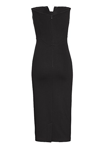 40050 Mujer Negro Apart Vestido Fashion CpBpq6n
