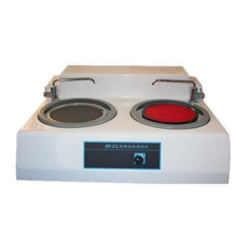 Metallographic Sample Grinding Machine Polishing Machine Desktop Double Metallographic Polisher Grinder Speed Optional (220V)