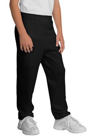 Port & Company - Youth Sweatpant, PC90YP, Black, ()