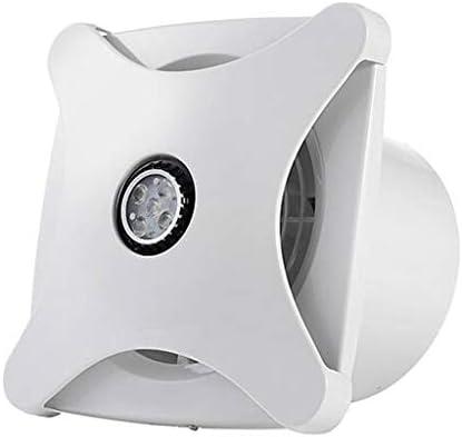 換気扇、家庭用浴室キッチンLED照明2in1一体型天井排気ファン
