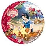Disney Princess Snow White Theme 9 Inch Paper Plates - Pack of 10