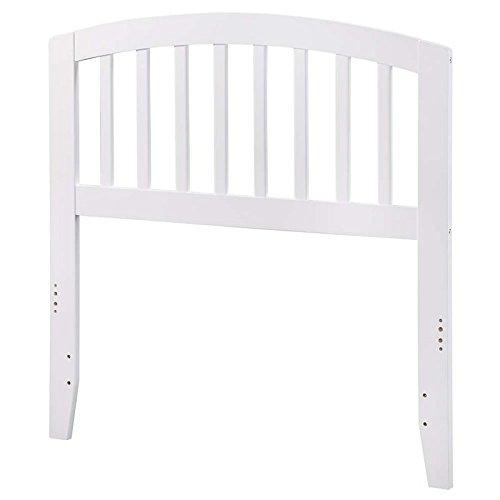 (Atlantic Furniture 41.63 in. Twin Headboard in White)