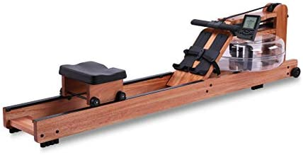 BATTIFE Water Rowing Machine Red Walnut Wood