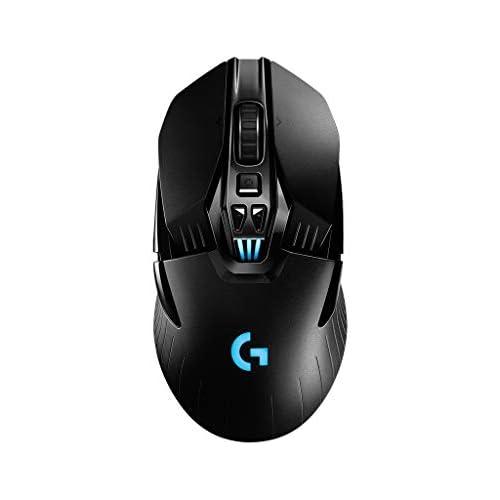 chollos oferta descuentos barato Logitech G903 Lightspeed Wireless Gaming Mouse 12 000 dpi RGB Ligero 7 a 11 Botones programables batería de Larga duración Compatible con PC Mac Embalaje de Europa Occidental Color Negro
