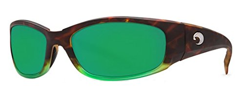 Costa Del Mar Sunglasses - Hammerhead- Glass / Frame: Matte Tortuga Fade Lens: Polarized Green Mirror Wave 400 - Del Hammerhead Costa Mar