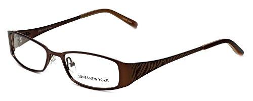 Jones New York Womens Lightweight & Comfortable Designer Reading Glasses J461 in Brown - Glasses New Jones York