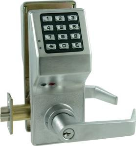 Alarm Lock DL3000 Trilogy Digital Keypad Lock w/ Audit Trail (Standard Cylinder)