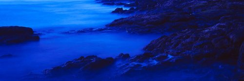 Walls 360 Peel & Stick Wall Murals: Rocks at the Coast Papagayo (84 in x 28 in)