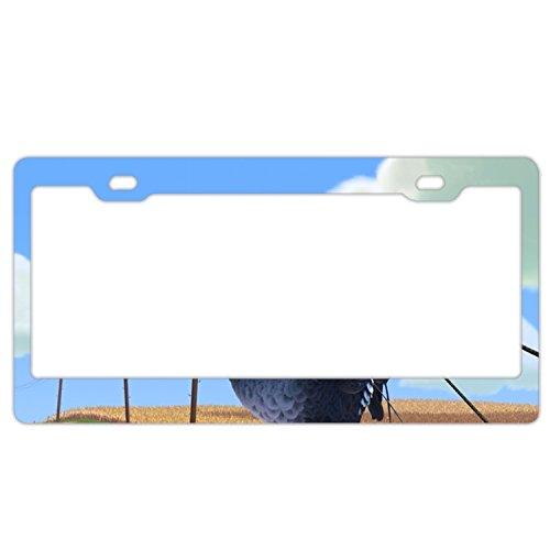 (Jailjack License Plate Frames, Pixar Birds Aluminum alloy Car Licence Plate)