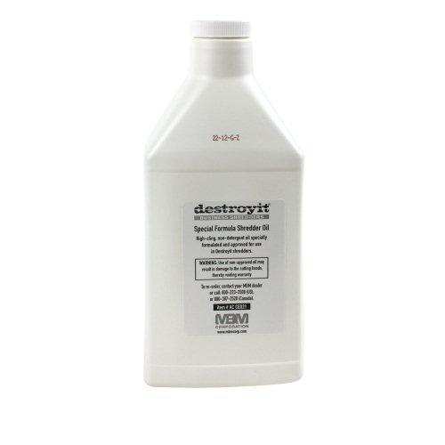 MBM DestroyIt Shredder Oil - 1 Quart Bottle