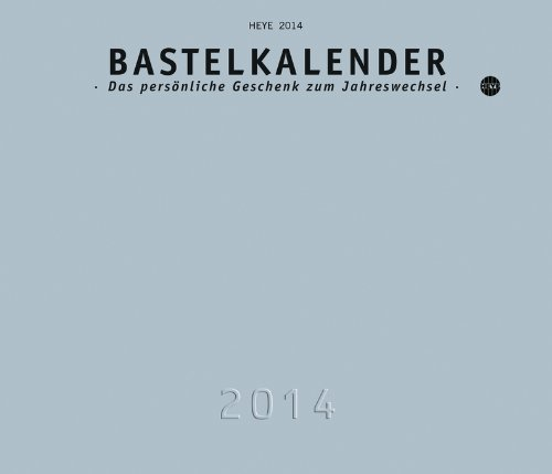 Bastelkalender silber 2014