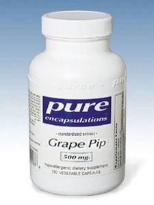 Pure Encapsulations - Grape Pip 500 mg 120 caps